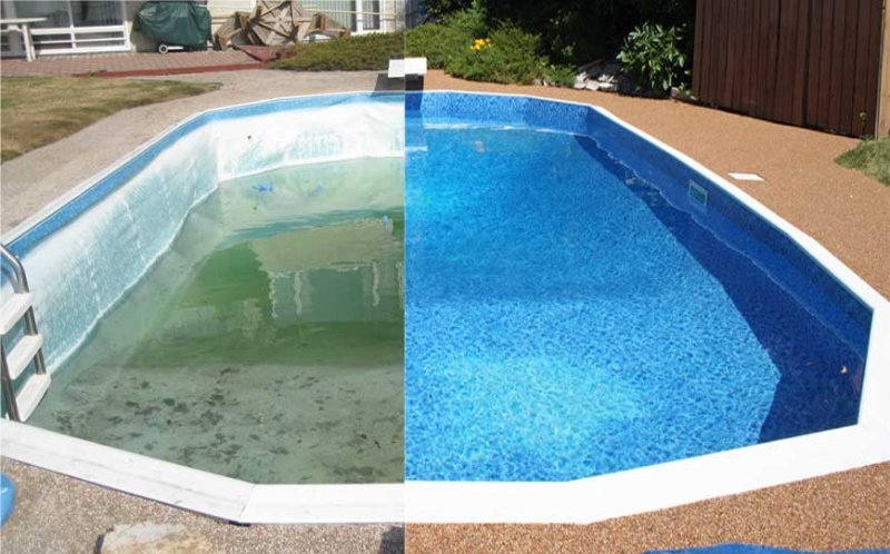 How To Prevent Vinyl Pool Liner Color Fading Drinkable